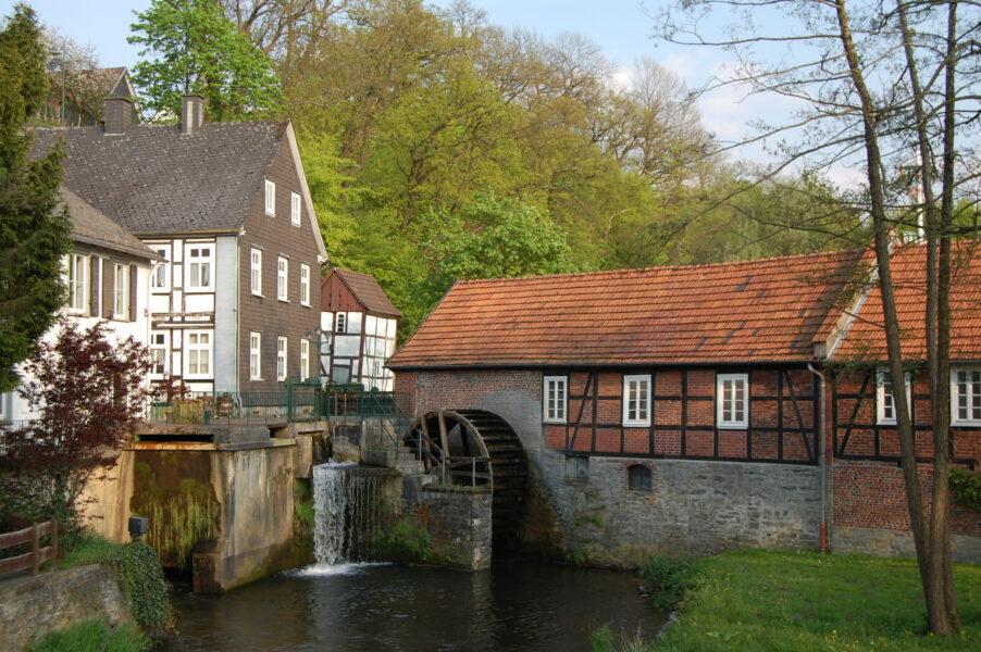 Ensemble Stütings Mühle